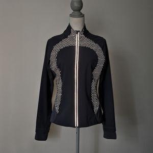 Rare Lululemon Sportif Reflective Dots Jacket Blue